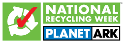 planet ark national recycling week logo
